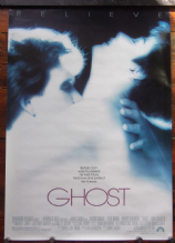 Ghost, Original DS Movie Poster, Demi Moore, Patrick Swayze, '90